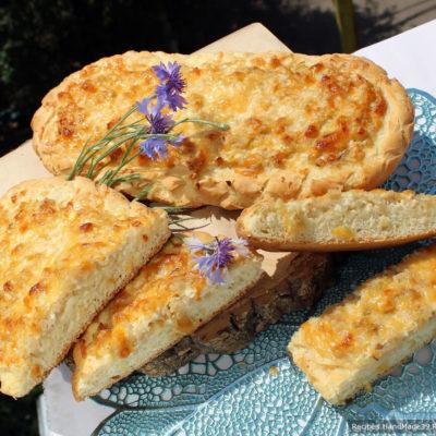 Швабский луковый пирог – пошаговый кулинарный рецепт с фото