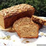 Шведский ночной хлеб без замеса из ржаной и пшеничной муки с семечками