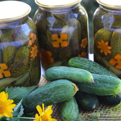 Хрустящие маринованные огурцы – пошаговый кулинарный рецепт с фото