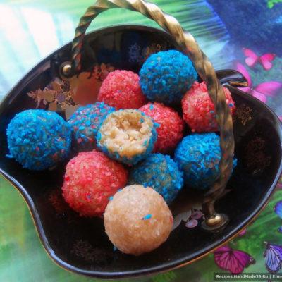 Конфеты «Рафаэлло» из варёной сгущёнки – пошаговый кулинарный рецепт с фото