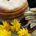 Цахараджин – осетинский пирог со свекольными листьями и сыром
