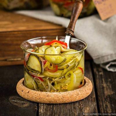 Пикули (американский вариант) – пошаговый кулинарный рецепт