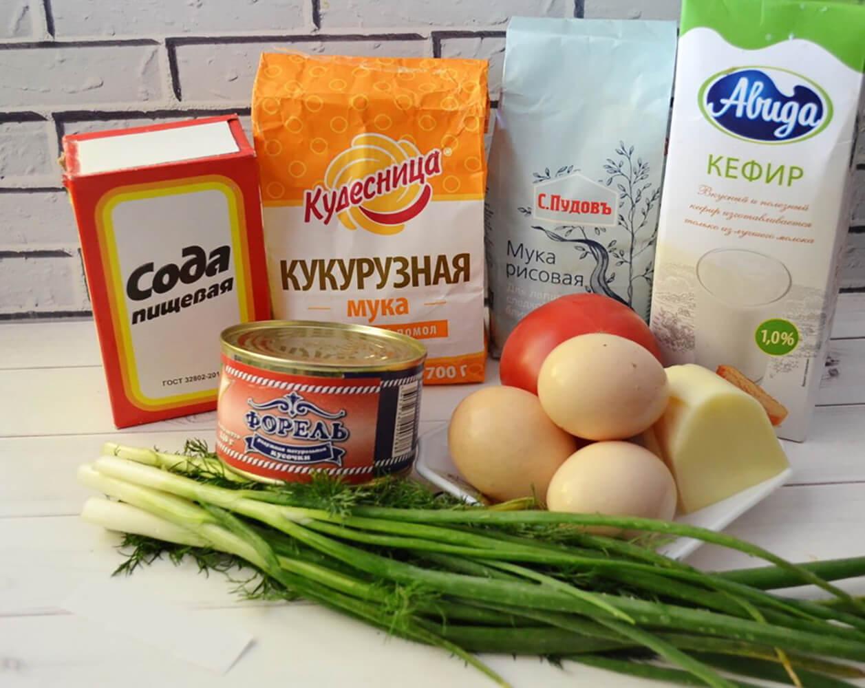 Подготовить необходимые ингредиенты