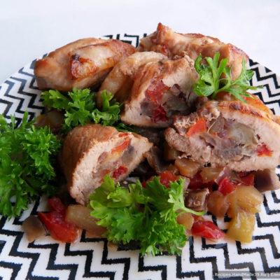 Свинина с овощами, запечённая в духовке – пошаговый рецепт с фото