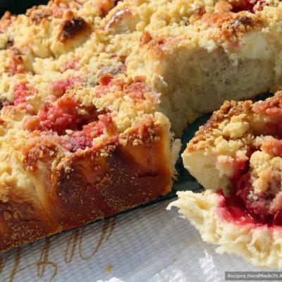 Сливовый пирог – пошаговый кулинарный рецепт с фото
