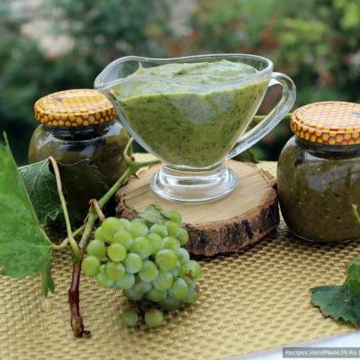 Зелёный ткемали – пошаговый кулинарный рецепт с фото