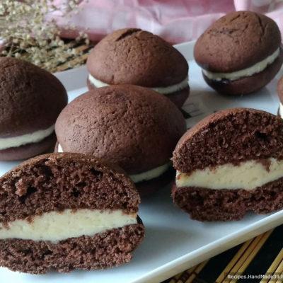 Пирожное «Вупи пай» – пошаговый кулинарный рецепт с фото