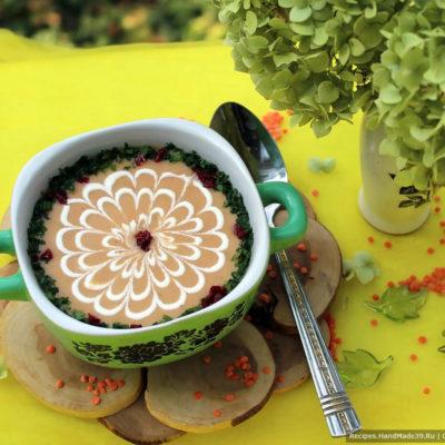 Суп-пюре из чечевицы – пошаговый кулинарный рецепт с фото
