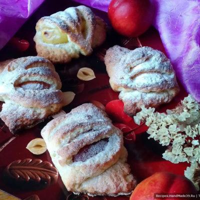 Быстрые булочки с начинкой – пошаговый кулинарный рецепт с фото