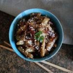 Баклажаны по-китайски в кисло-сладком соусе