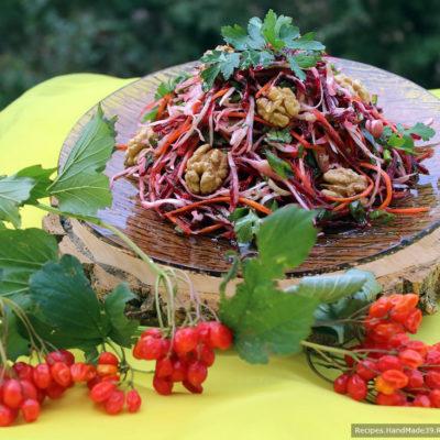 Салат «Щётка» – пошаговый кулинарный рецепт с фото