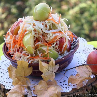 Квашеная капуста – пошаговый кулинарный рецепт с фото