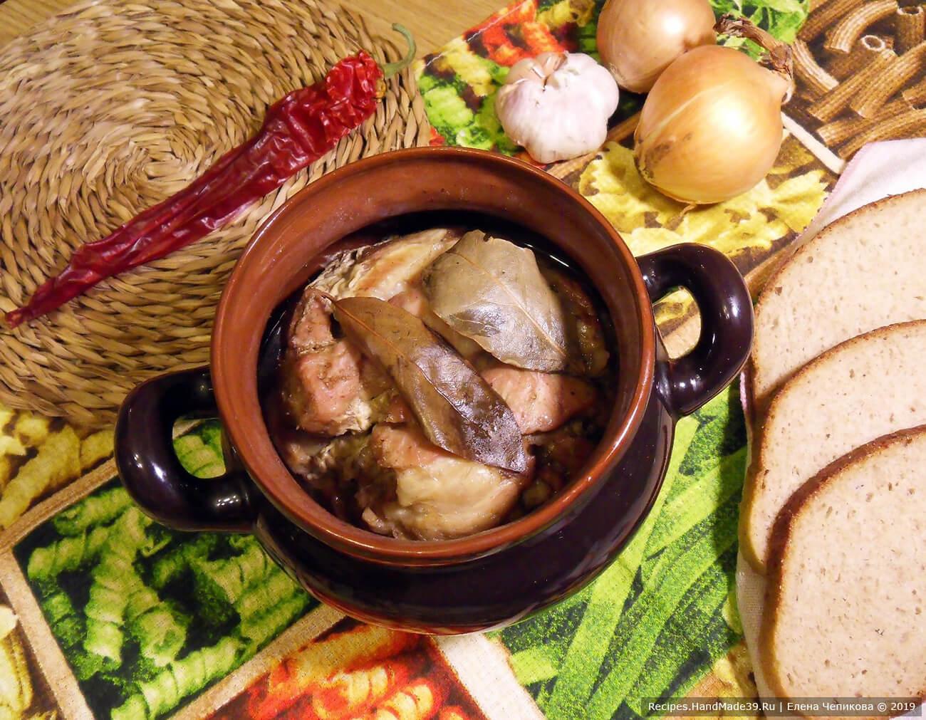Тушёнка из свинины в домашних условиях – пошаговый рецепт с фото