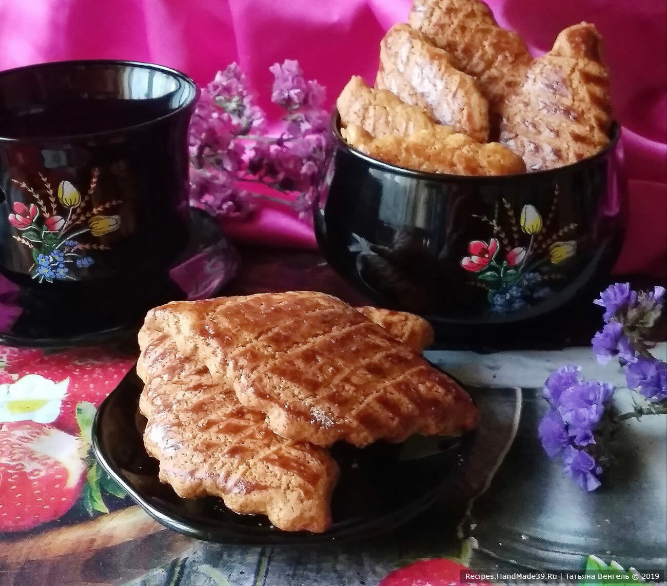 Быстрое печенье «Медовое»