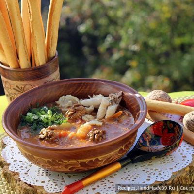 Харчо с курицей – пошаговый кулинарный рецепт с фото