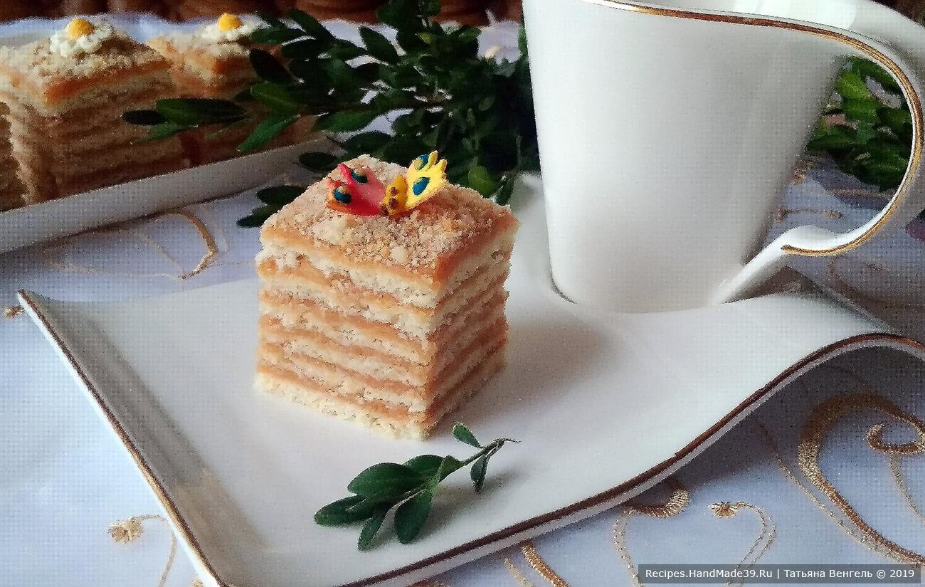 Яблочный торт «Небо на губах»