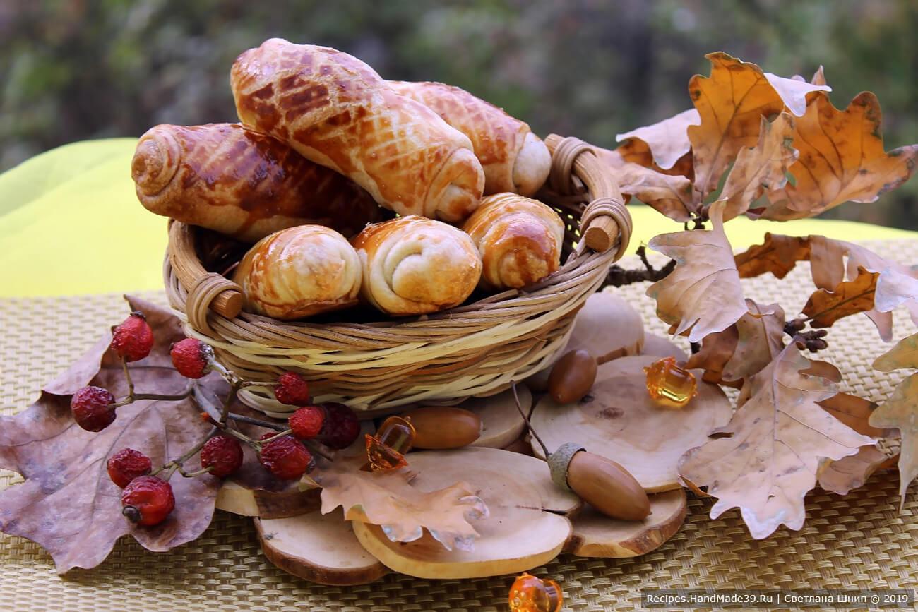 Молдавские пирожки с капустой «Вэрзэре»