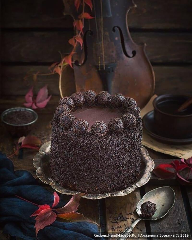 Шоколадный медовик с тремя вариантами крема (шоколадный заварной крем, шоколадный крем чиз, шоколадный сливочный крем) – пошаговый рецепт