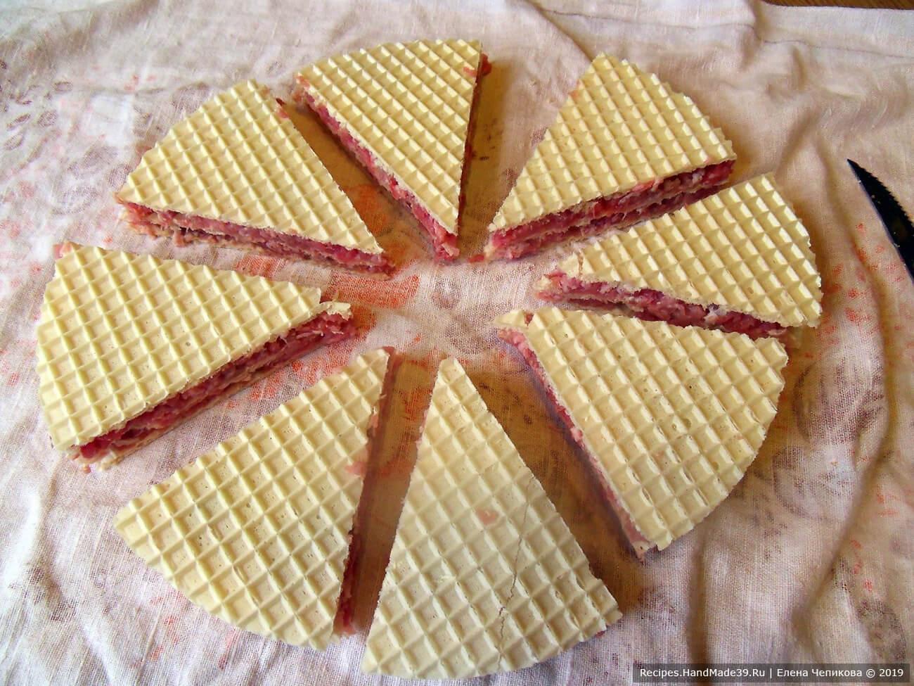 Разрезать «торт» на сегменты