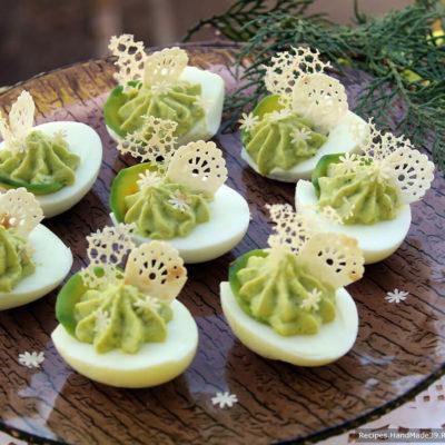Фаршированные яйца – пошаговый кулинарный рецепт с фото