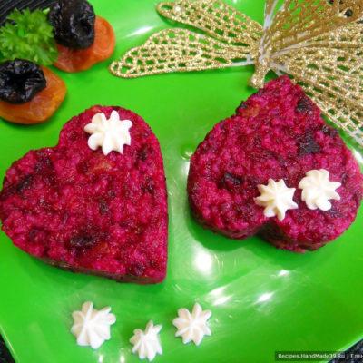 Салат со свёклой и черносливом – пошаговый кулинарный рецепт с фото