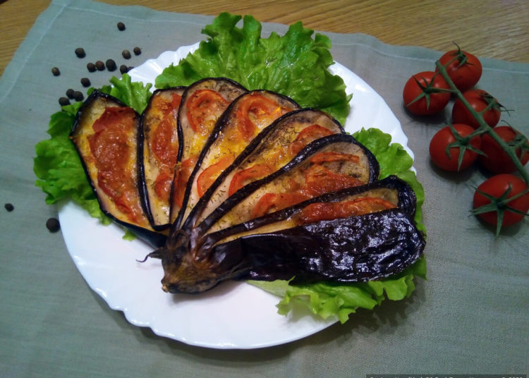 Баклажаны в духовке – пошаговый кулинарный рецепт с фото