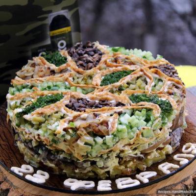 Можно добавить немного зелени. Приятного аппетита!