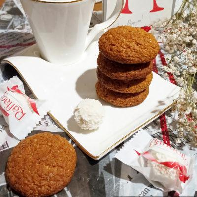 Кокосово-овсяное печенье без яиц