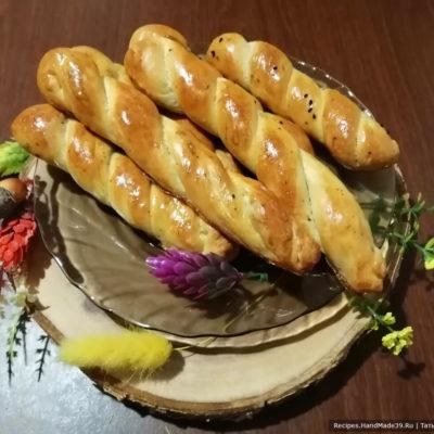 Булочки с луком и сыром – пошаговый кулинарный рецепт с фото