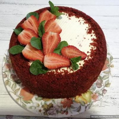 Торт «Красный бархат» – пошаговый кулинарный рецепт с фото