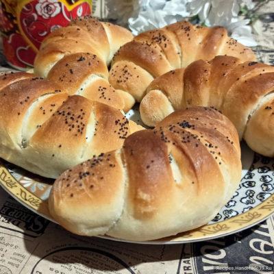 Постные рогалики – пошаговый кулинарный рецепт с фото