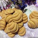Мандариновое печенье «Минутка»