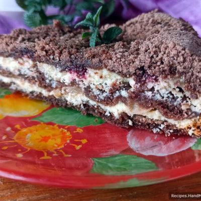 Шоколадная ватрушка с творогом – пошаговый кулинарный рецепт с фото