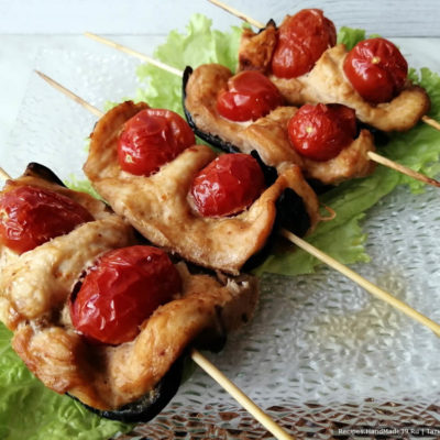 Куриное филе с овощами в духовке – пошаговый кулинарный рецепт с фото