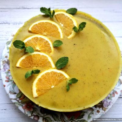 Как приготовить печёночное суфле в апельсиновом желе
