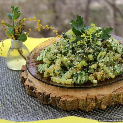 Постный картофельный салат «Монастырский» – пошаговый рецепт с фото