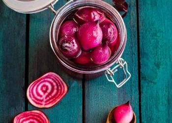 Маринованный лук для салатов, закусок – пошаговый рецепт с фото