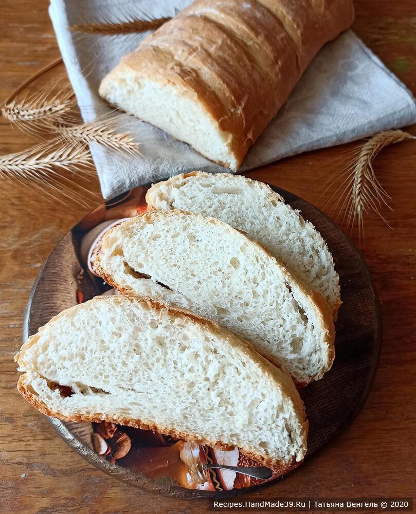 Венский молочный хлеб