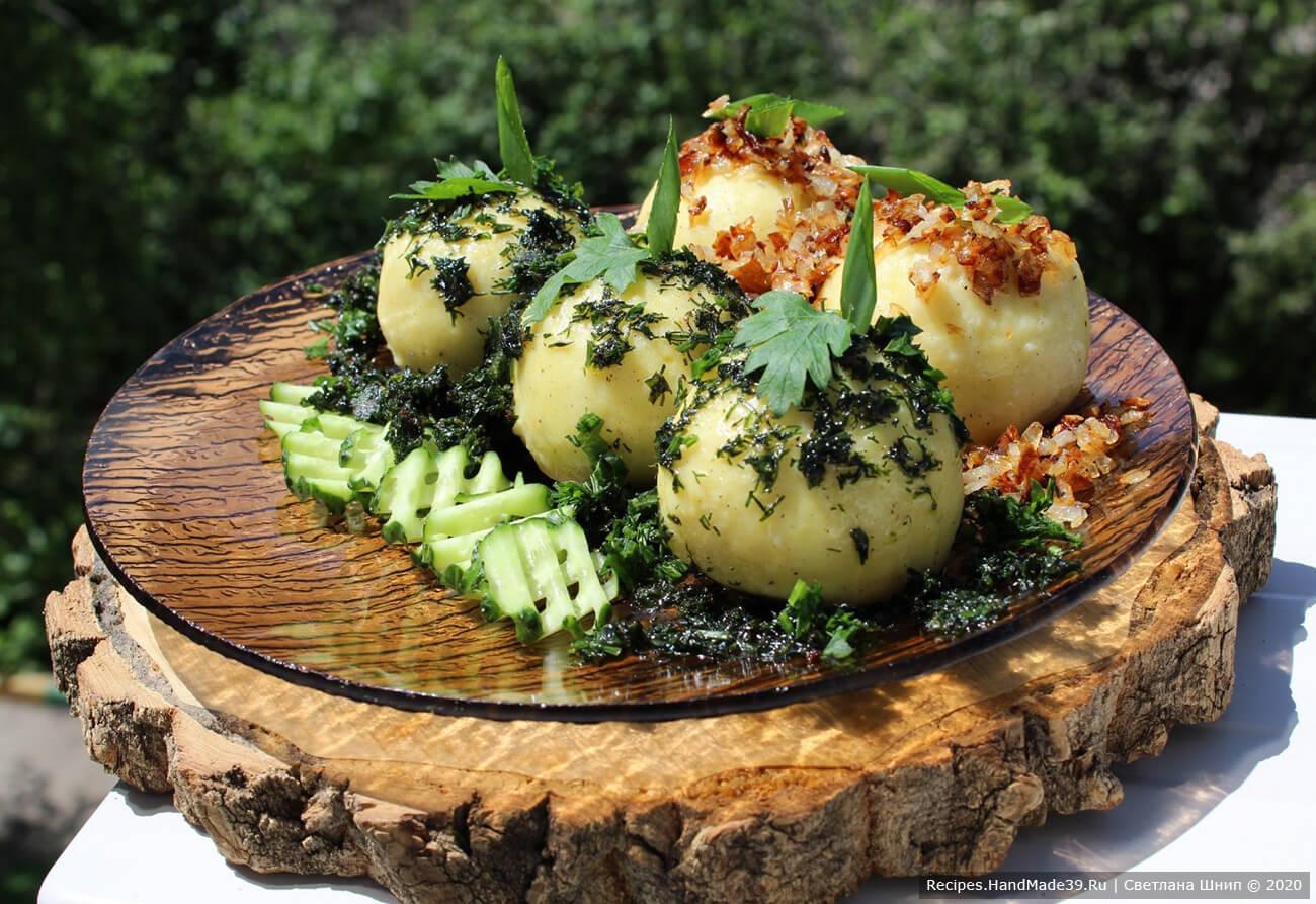 Картофельные клёцки по-немецки «Как у бабушки»