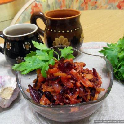 Икра из свёклы по-монастырски – пошаговый кулинарный рецепт с фото