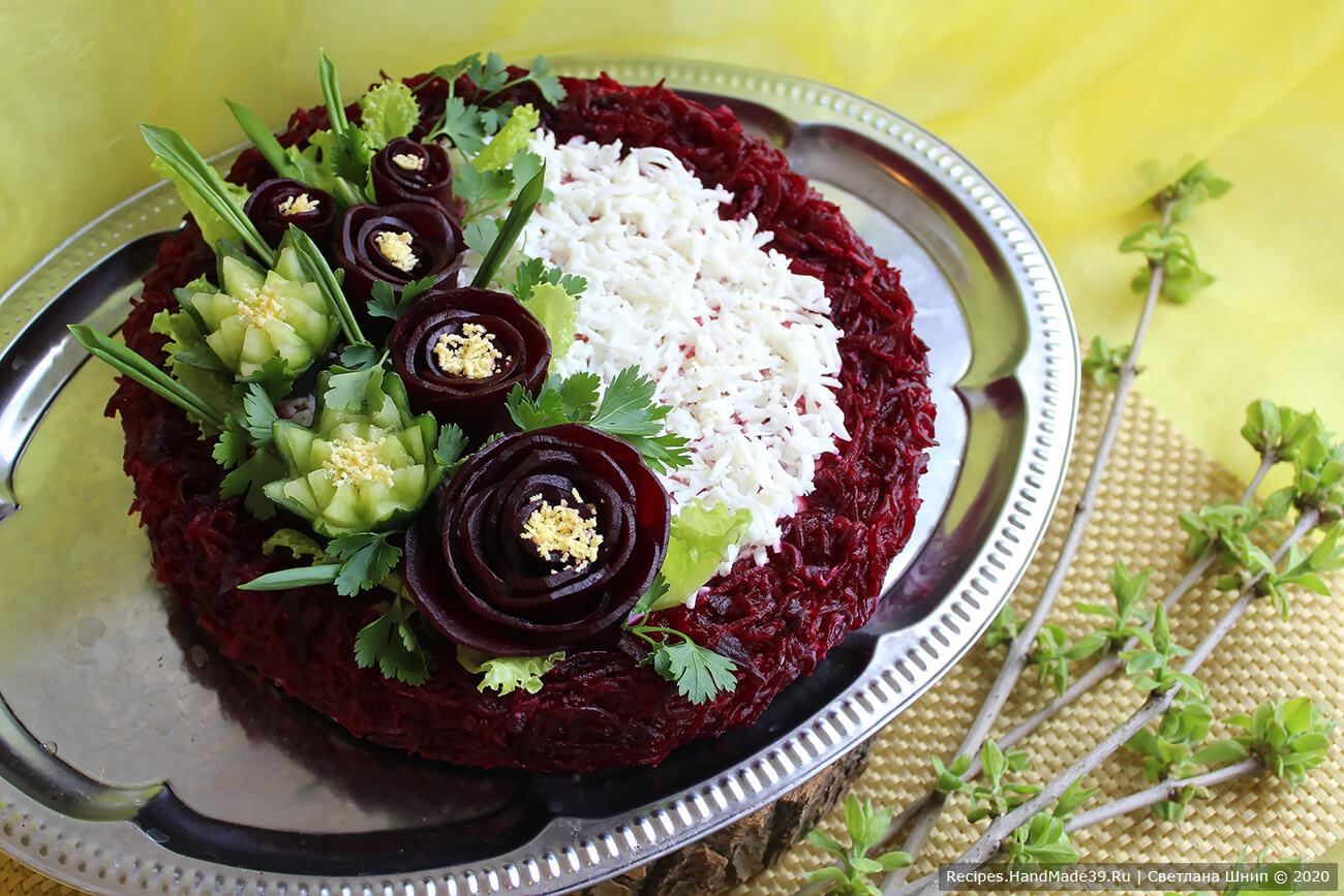 Салат «Курица под шубой» – классический рецепт