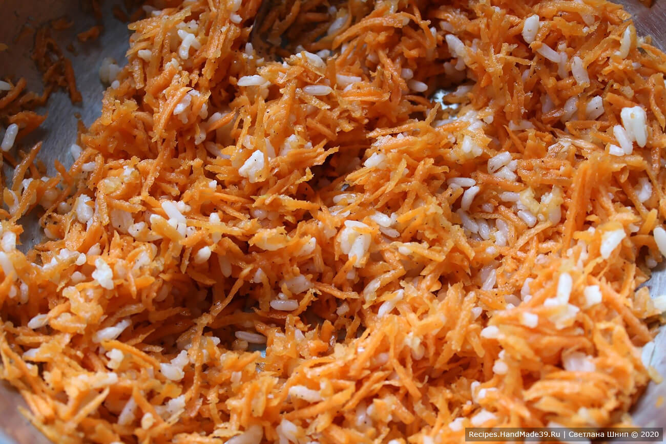 Закуска из моркови с чесноком – фото шаг 5