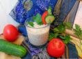 Смузи с овощами и зеленью на кефире – пошаговый рецепт с фото