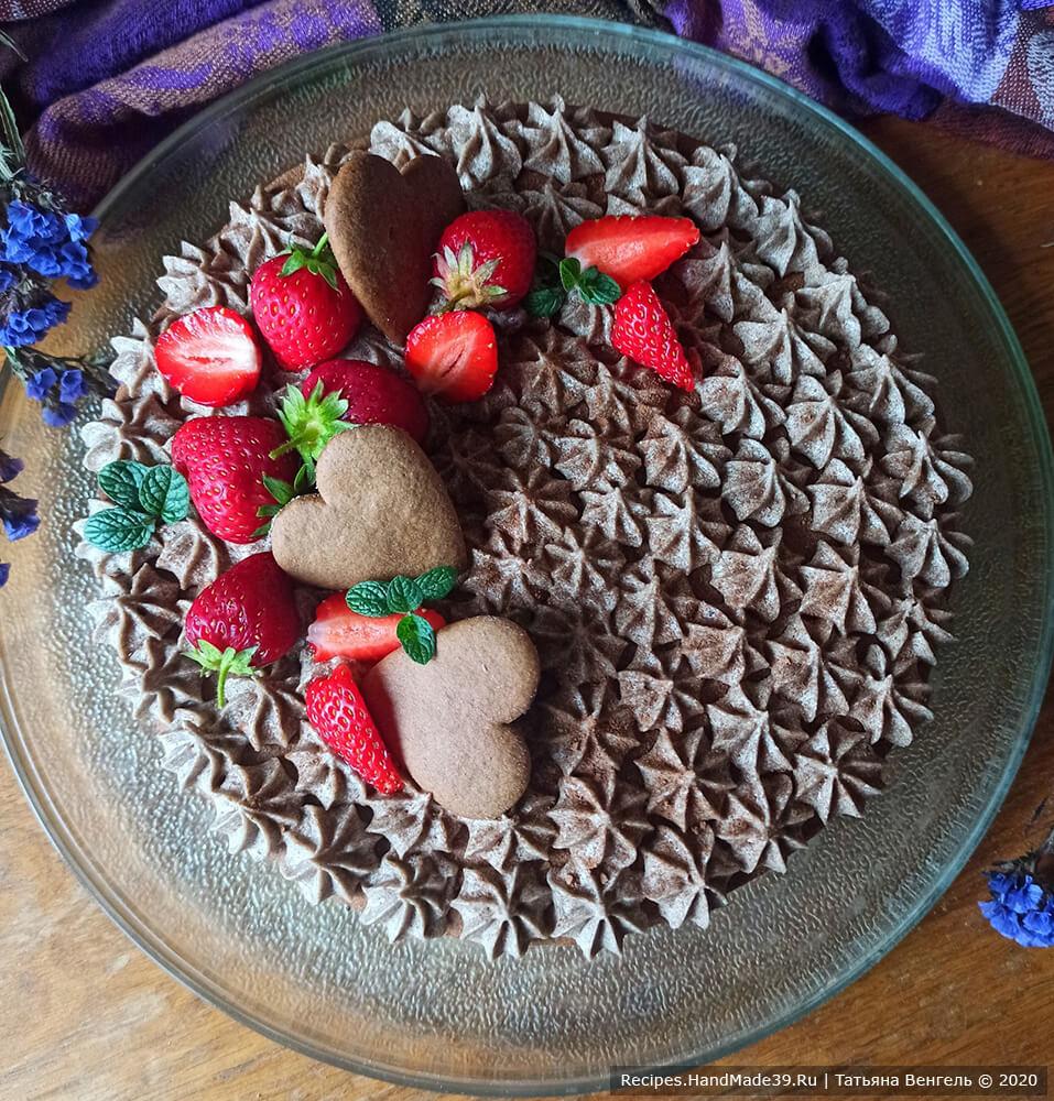 Торт шоколадный медовик – фото шаг 19