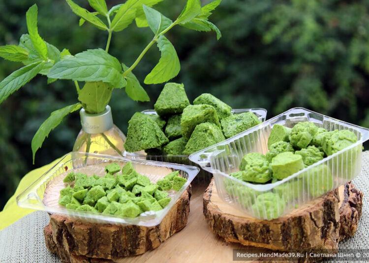 Как заморозить зелёный лук со сливочным маслом на зиму