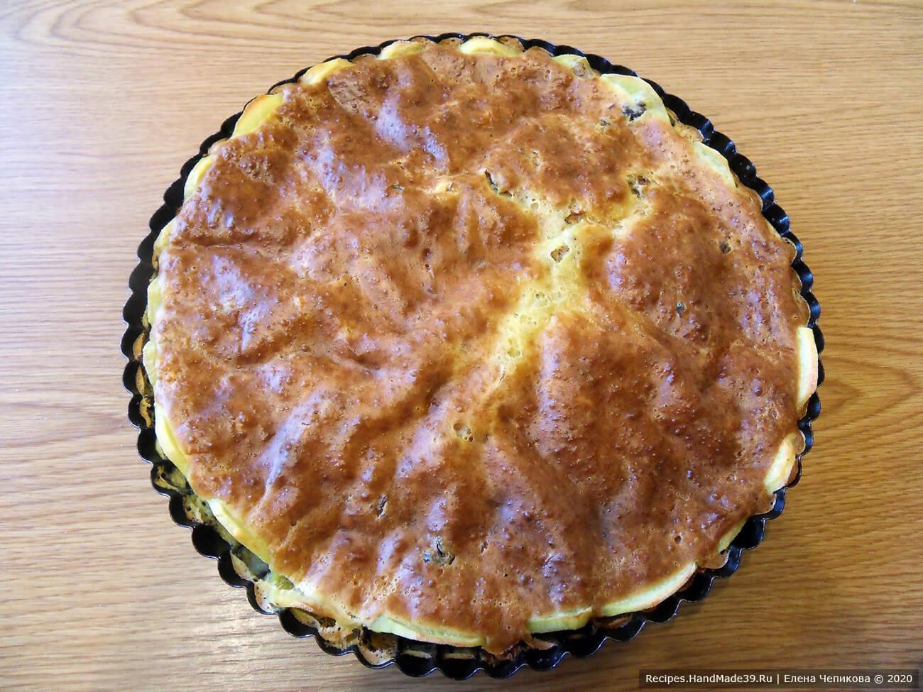Картофельный пирог «Черепаха» – фото шаг 8
