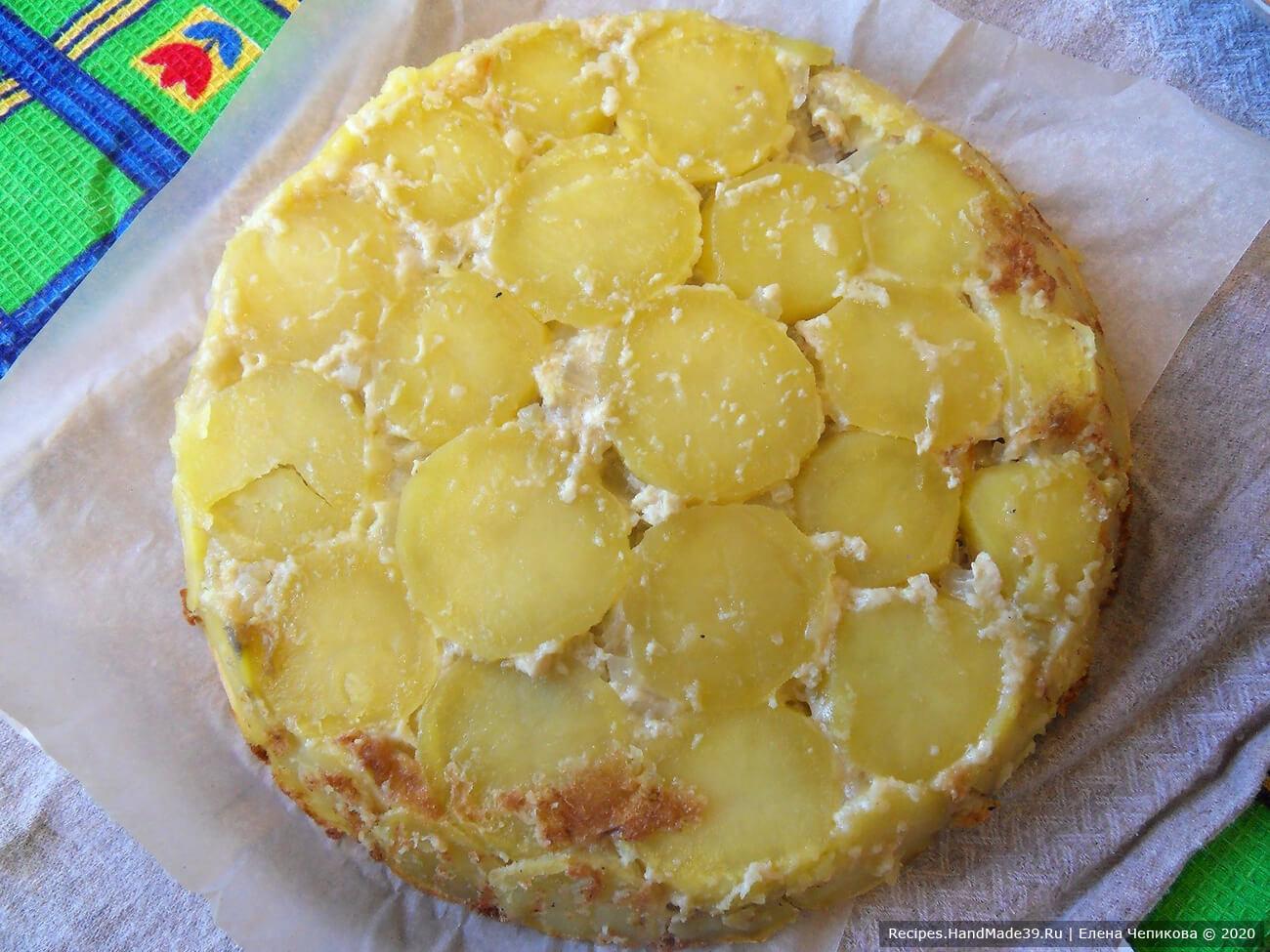Картофельный пирог «Черепаха» – фото шаг 9
