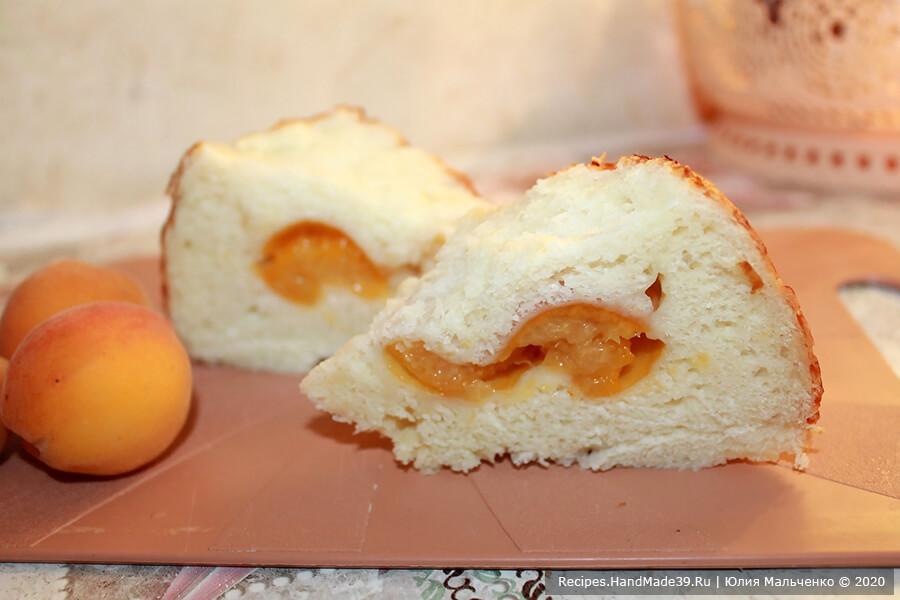 Пирожки с абрикосами – фото шаг 7