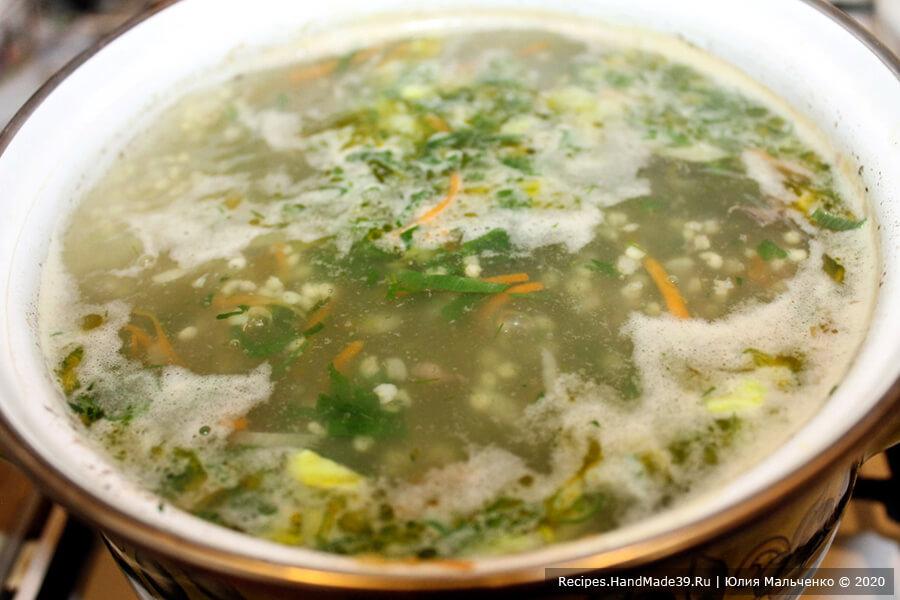 Суп из куриных потрошков с пшеном и овощами – пошаговый рецепт с фото