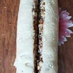 Творожный кекс с варёной сгущёнкой – фото шаг 9